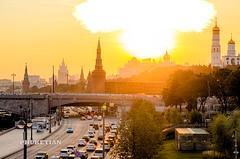 """""""Nuclear Explosion"""" over the Moscow Kremlin     XOKA6187b2s"""