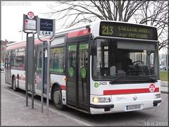 Renault Agora S – Keolis Lyon / TCL (Transports en Commun Lyonnais) n°2423