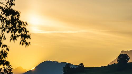 Sonnenaufgang Riedere