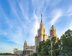 Moscow State University. Main Building     XOKA5909s