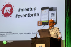 "Aroon Nagersheth """"Newcomers Network - ein Community Model made in Frankfurt"""