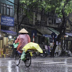 Storm in Hanoi by Sheila Clementson