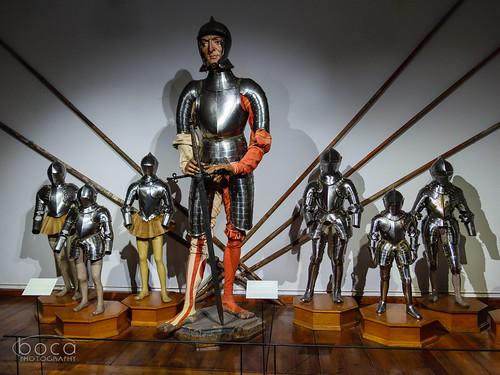 Armor in Schloss Ambras (Bartlmä Bon)