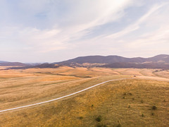 Zlatibor mountain in Serbia on a sunny day