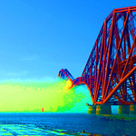 Summer Mist engulfs the Forth Bridge by John Reddington