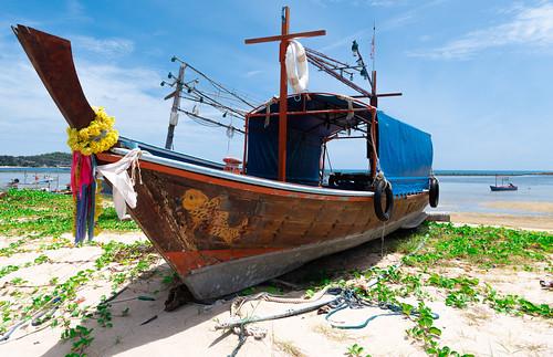 Abandoned Boat  Koh Samui