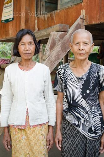 Neigbor Women in Rural Cambodia