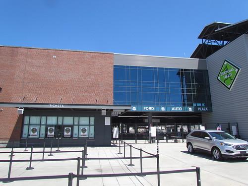 Main Entrance at Regions Field -- Birmingham, AL, August 30, 2019