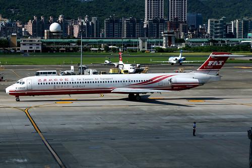 Far Eastern Air Transport | McDonnell Douglas MD-83 | B-28027 | Taipei Songshan