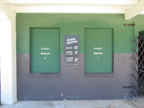 Ticket Booth at Rickwood Field -- Birmingham, AL, August 30, 2019