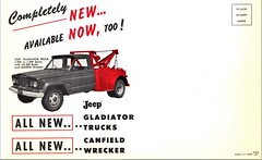 1962 Jeep Gladiator Tow Truck