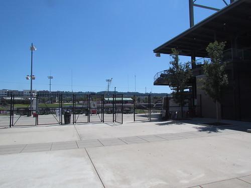 Left Field Entrance at Regions Field -- Birmingham, AL, August 30, 2019