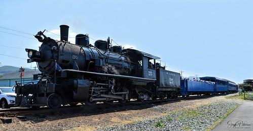 McCloud Steam Locomotive #25 - Oregon Coast Scenic Railroad Steam Train circa. 1960's