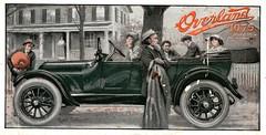 1915 Overland Model 80 Touring Car