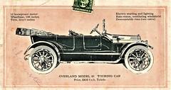 1915 Overland Model 81 Touring Car