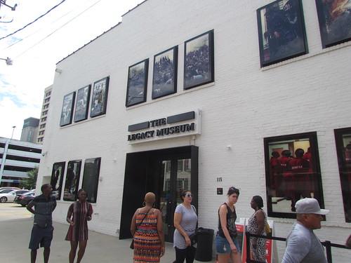 Legacy Museum -- Birmingham, AL, September 1, 2019