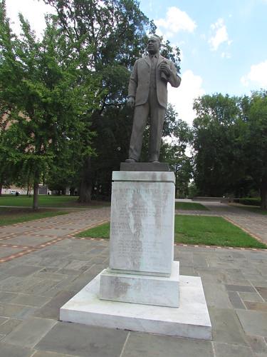 Dr. King Statue Near the Birmingham Civil Rights Institute -- Birmingham, AL, August 31, 2019