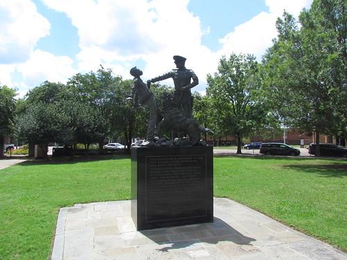 Foot Soldiers Memorial by the Birmingham Civil Rights Institute -- Birmingham, AL, August 31, 2019