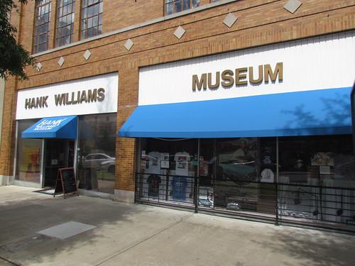 Hank Williams Museum -- Montgomery, AL, September 1, 2019