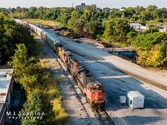CN 8012   EMD SD70M-2   CN Memphis Subdivision