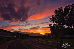 Sunrise over Kihei