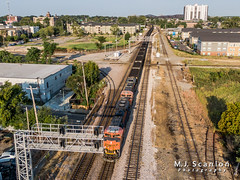 BNSF 8481   EMD SD70ACe   BNSF Thayer South Subdivision