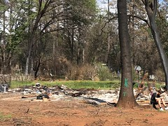 Grandma and Grandpa's House after Camp Fire (5/2019)