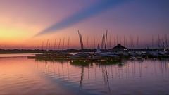Sunset at White Rock lake