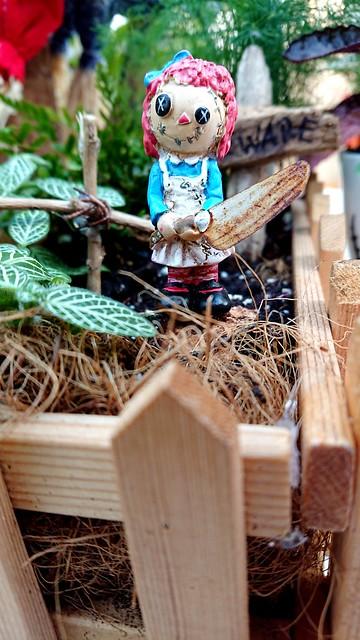 Raggedy Anne and her secret garden