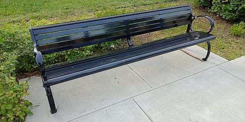 Bench at Bronx Community College