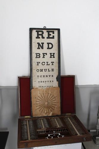 Tabla optométrica - Beja (Alentejo - Portugal)