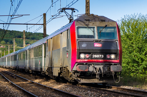 Tain SNCF Intercités 3635 BB 26000