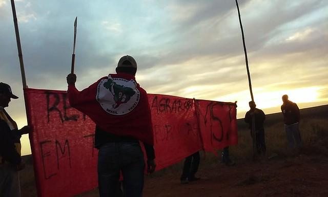 Camponeses ocupam fazenda no Tocantins - Créditos: MST