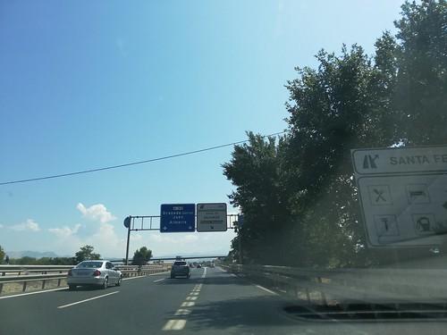 A-92 - saída Granada