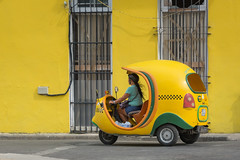 Coco-Taxi in Havana