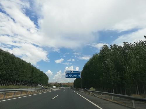 A-92 - saída Purullena