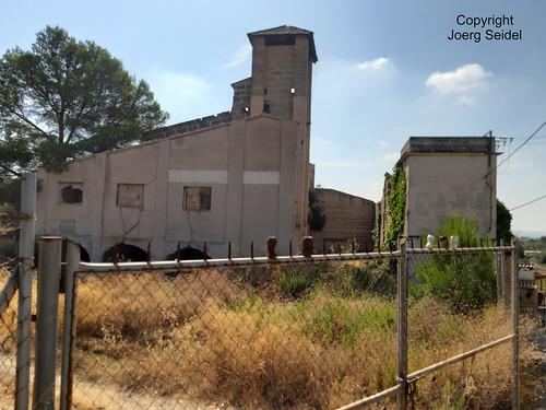 ES-07360 Lloseta Minas de Carbo de Mallorca/Kohlebergwerke auf Mallorca Mina de Son Ramis im August 2019