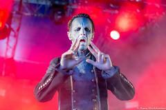 Image by runegoddokken (126885790@N07) and image name Powerwolf @ Tons Of Rock 2019-1 photo