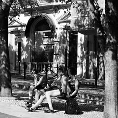 Lisbon tourists girls