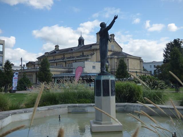 Photo:Gustav Holst statue - Imperial Gardens, Cheltenham By ell brown