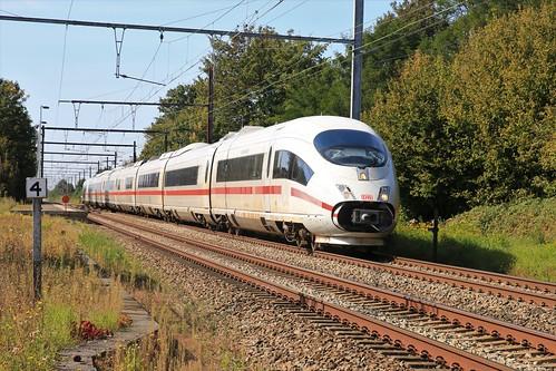 DB ICE 4604 Brussel Remmicourt 15-09-2019