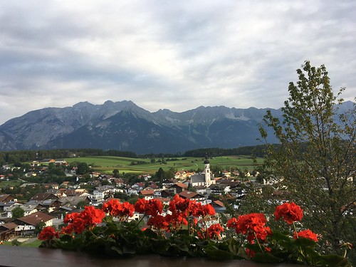 Natters seen from Mutters, Austria