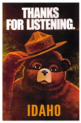 Image by austen777 (austen777) and image name Idaho - Smokey Bear photo