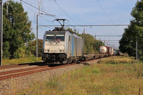 Railpool 186 455-2 Remmicourt 15-09-2019