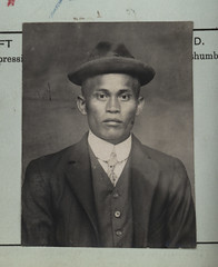 Image by Archives New Zealand (archivesnz) and image name Shum, Moon Kow photo  about On 30 September 1924 Shum, Moon Kow  paid a £100 poll tax when he arrived in New Zealand. Shum, (Born at Ah Woo)  was 33 years old when he arrived in Wellington on the Manuka. The Chinese Immigrants Act 1881 imposed a £10 poll tax on all Chinese immigrants to NZ. It also imposed a tonnage restrictio