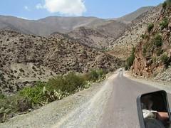 W drodze w Atlas Wysoki