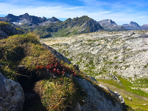 The mountains around Lech in mid-September