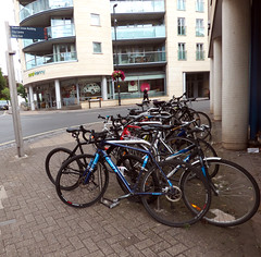 Cycle Racks In Merchants Road Clifton
