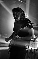 Image by PuraVida Photo (puravida2013) and image name _DSC2363-copywb-bw photo  about Torsten Kinsella . God is an Astronaut, Rock and Roll Hotel, Washington , DC, September 14, 2019