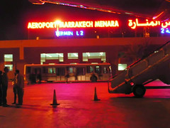 Na lotnisku w Marrakeszu